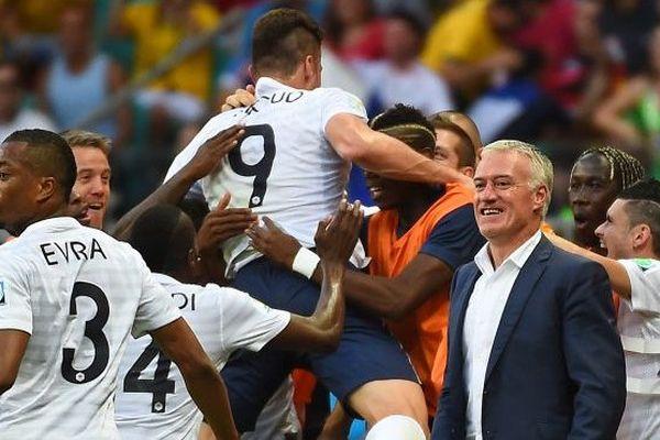 Victoire des Bleus France Suisse