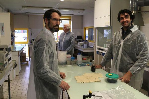 Ronan Pierre et Pierre-Antoine Guibout au CEVA