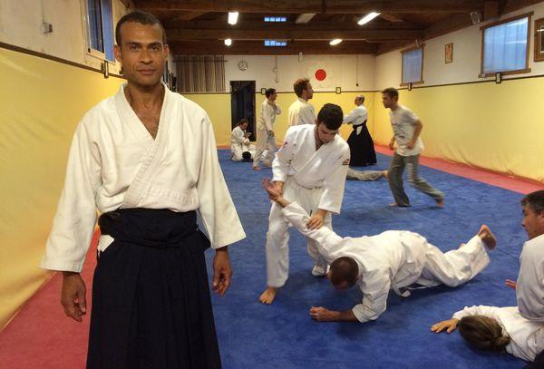 Jean-Thierry Cheyroux, professeur d'Aïkido à Toulouse