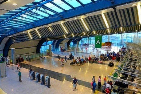Aéroport de Plaisance à l'île Maurice