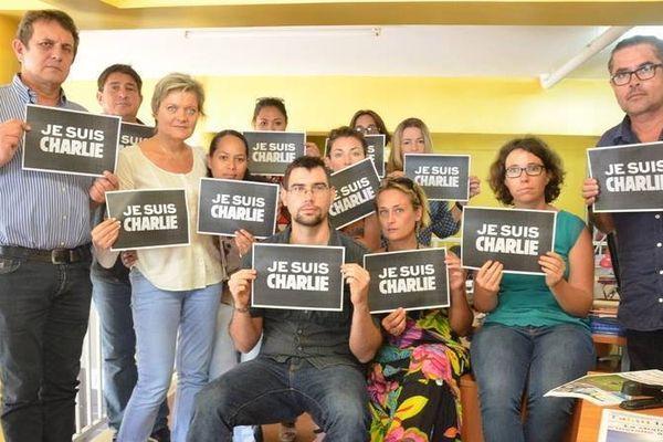 Le soutien de Tahiti Infos suite à l'attentat contre Charlie Hebdo