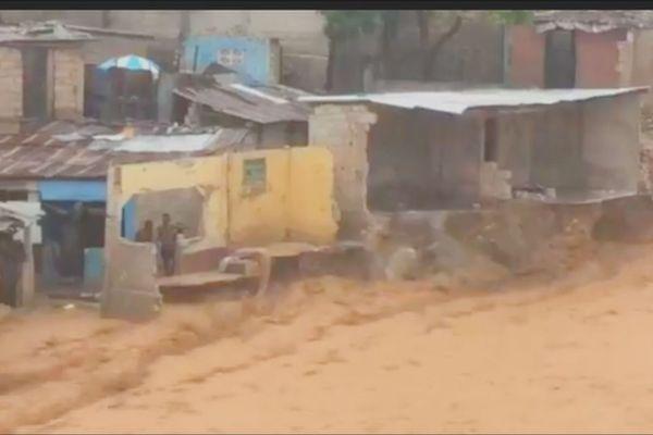 Tempête tropicale Laura en Haïti