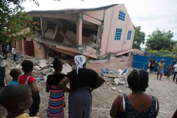Séisme Haïti 6 octobre 2018