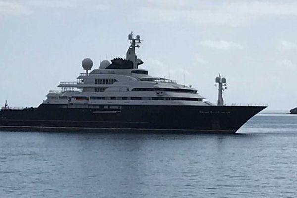 L'Octopus yacht du milliardaire Paul Allen