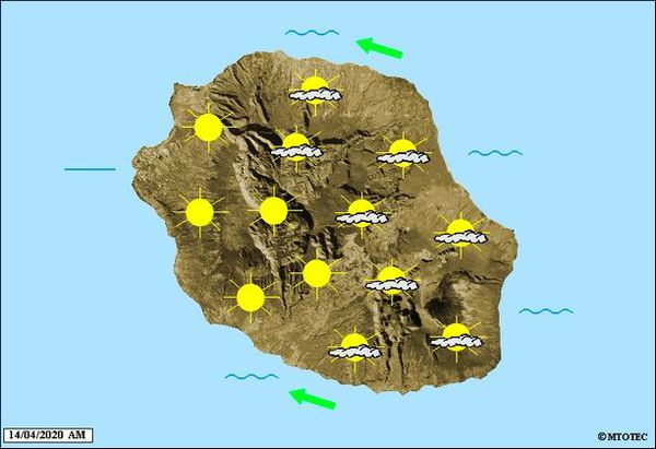 Carte météo 14 avril 2020