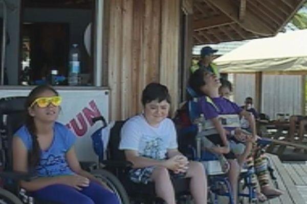 Un baptême de plongée pour enfants handicapés