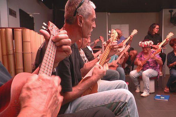Initiation au ukulele