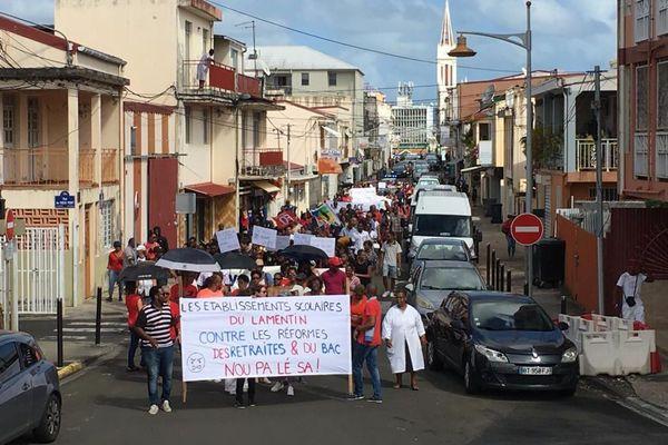 Manifestation Lamentin (4) 15 janvier 2020