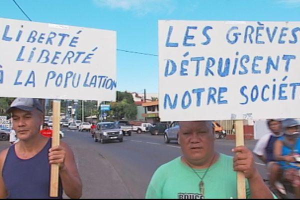Grève à gaz de Tahiti : la CGPME souhaite une action réquisitoire
