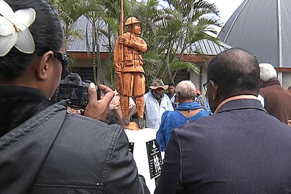 Monument aux tirailleurs Kanak