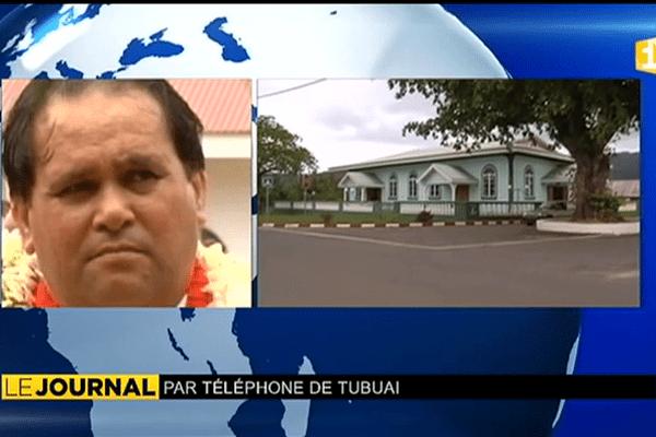 Témoignage du maire de Tubuai Fernand Tahiata.