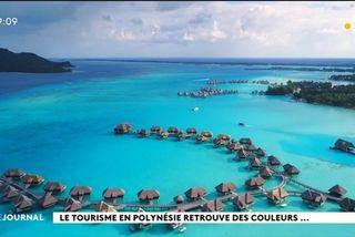 Le tourisme Polynésien a le vent en poupe.