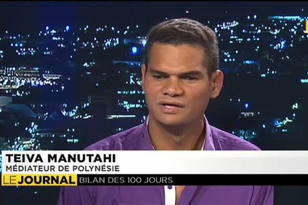 L'invité du journal du 19 juillet Teiva Manutahi , médiateur de la Polynésie