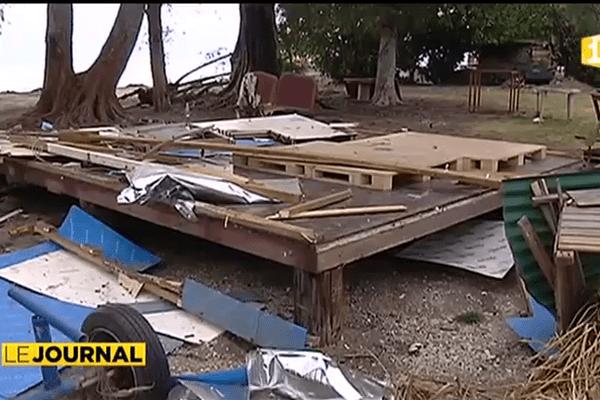 """Expulsion à Atimaono : une maison rasée """"par inadvertance"""""""