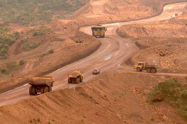 Roulage minier en Nouvelle-Calédonie, image d'illustration, Vale
