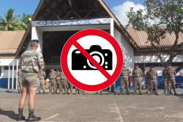 RSMA prises de vue interdite