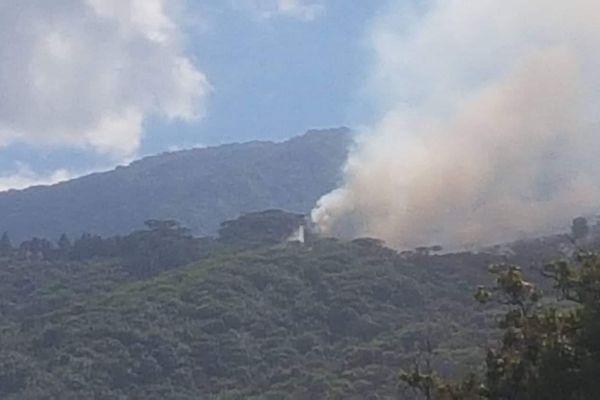 Incendie de Paea : le feu est définitivement maitrisé.