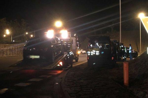 sécurité routière controle gendarmerie Rd point Gillot 121220