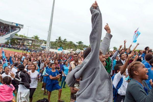 Fidji liesse rugby JO