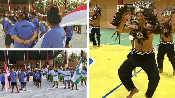 Festivités aux jeux de Tuamotu-Est