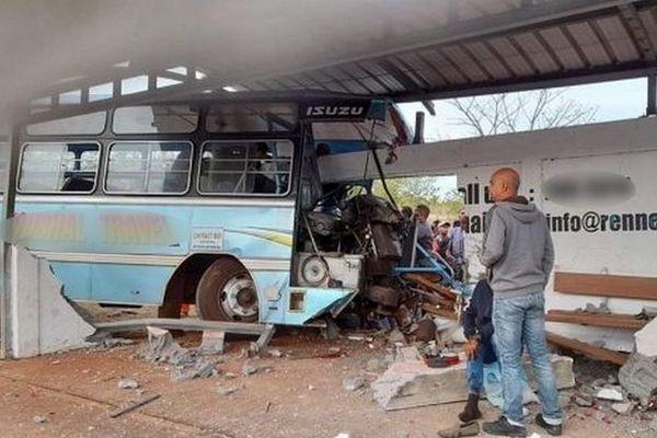 Accident de bus à l'île Maurice 5 nov 2020