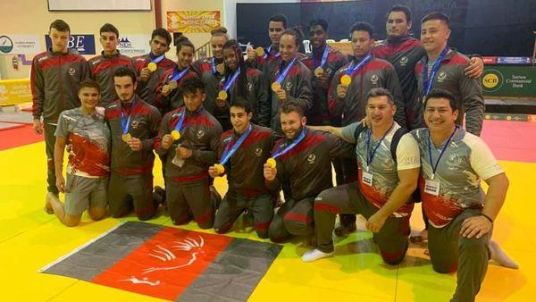 Samoa 2019, médailles du judo