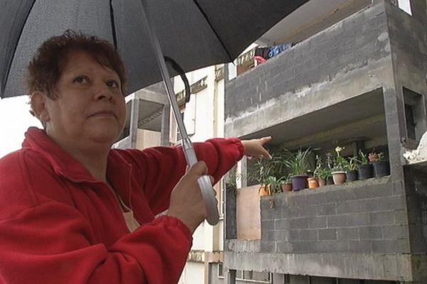 infiltrations immeubles SIDR Camélias
