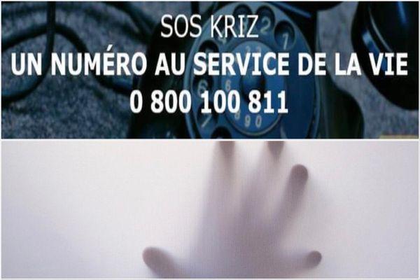 Téléphone plate forme SOS kriz