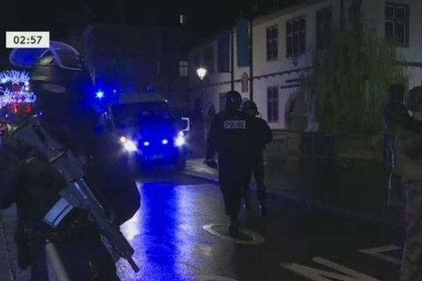 Trois morts et une dizaine de blessés à Strasbourg