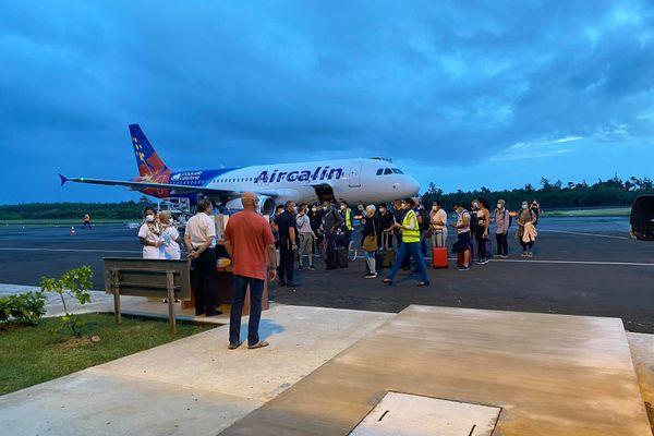 arrivée vol airbus