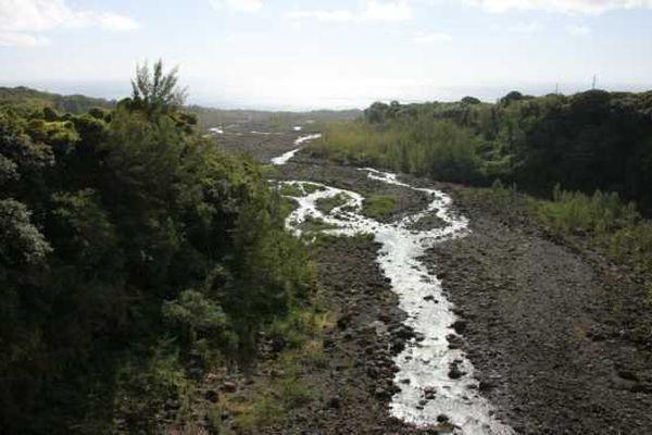 Lit de rivière
