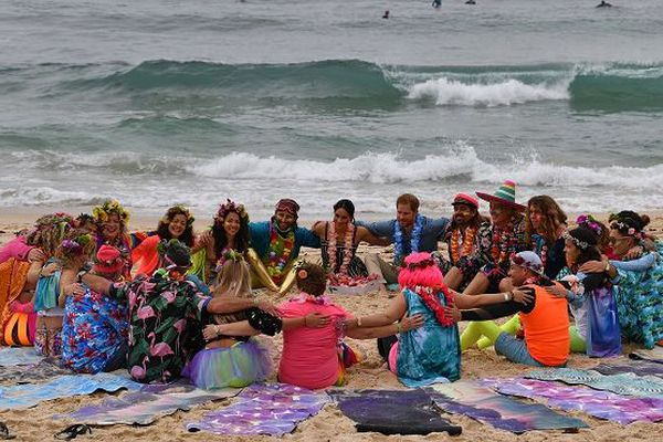 "Rassemblement ""One wave at a time"" à Sydney"
