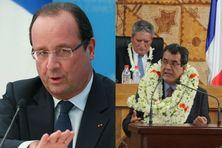 Signature des accords de l'Elysée en prologue aux accords de Papeete