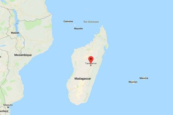 Carte Madagascar Antananarivo