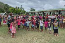 l'école primaire Maharepa accueille le jury.