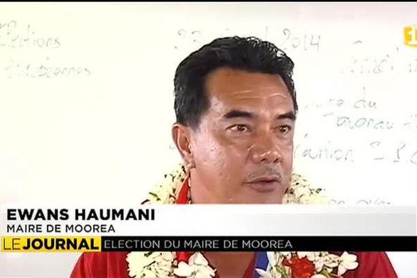 Municipales : Ewans Haumani succède à Raymond Van Bastoaler à Moorea
