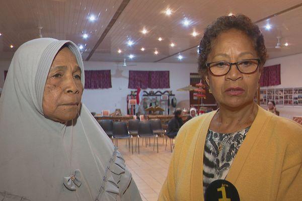 Retrouvailles familiales. Soeurs indonésiennes.