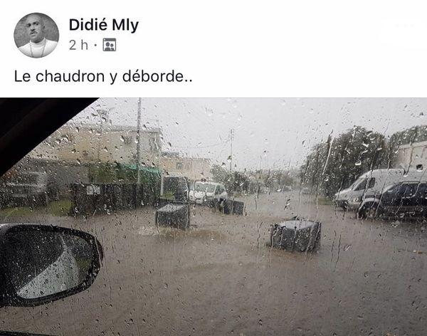 Inondation Chaudron post FB