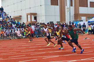 course 100m handisport, pas de médaille pour Falemanu Aveuki