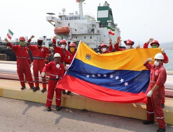 Venezuela équipes iraniennes et venezueliennes