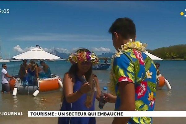 18% des salariés de Polynésie vivent du tourisme