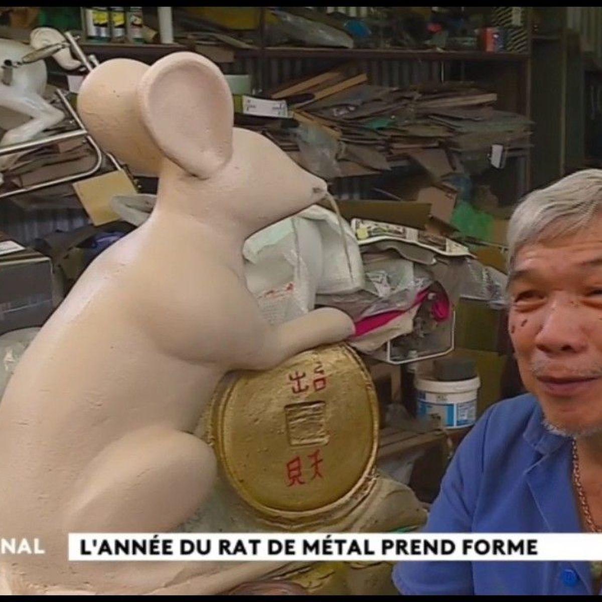 Nouvel an chinois : à la rencontre du rat de métal