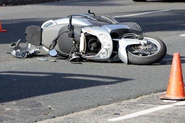 crash scooter