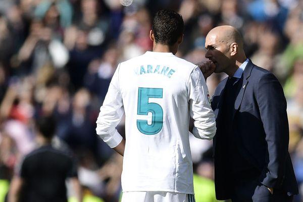 Varane et Zidane