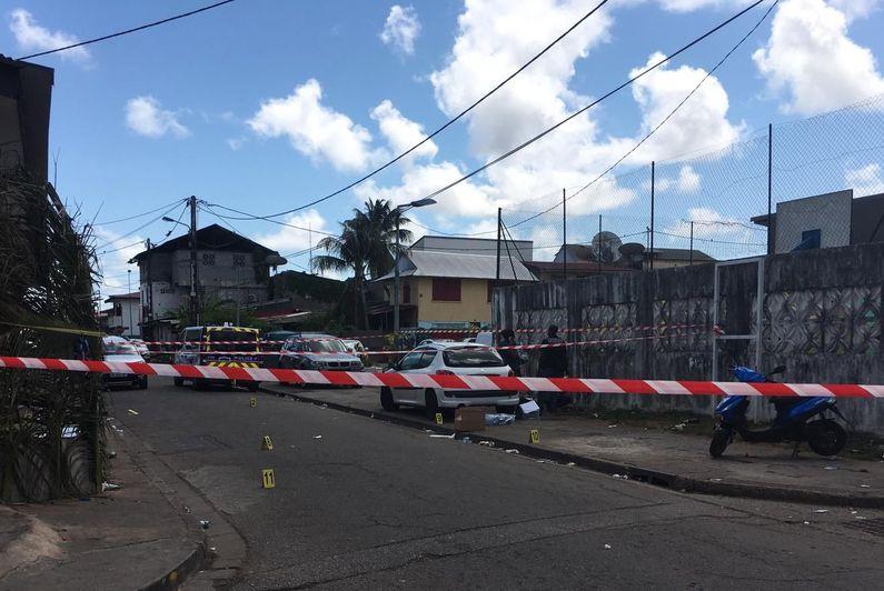 Cayenne : une fusillade dans le quartier de la Crique fait 1 mort et 4 blessés