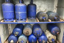 Les précieuses bouteilles de gaz