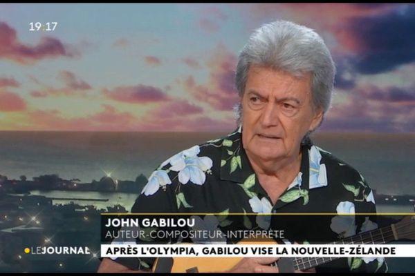 Invité du VEA et du JT : John Gabilou