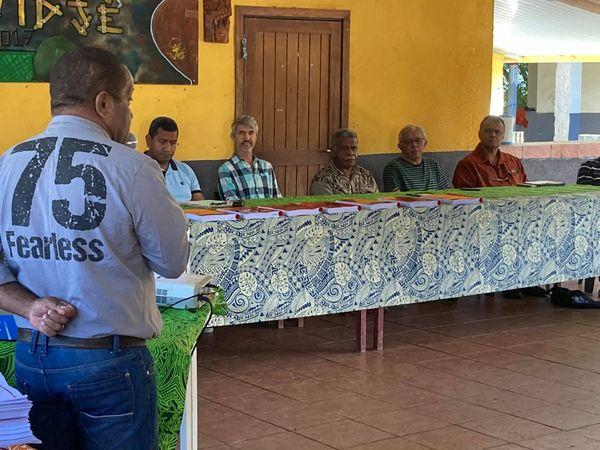 Conseil d'aire Xaracuu et matinée de vaccination, Kouergoa, Boulouparis, 17 juillet 2021