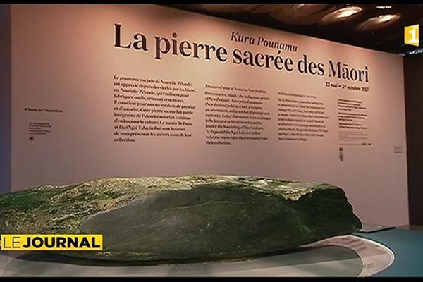 Le jade maori en vedette au musée des arts premiers