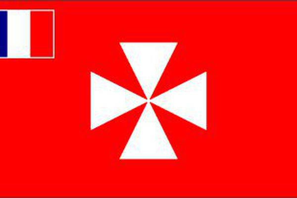 Le drapeau des territoires de Wallis et Futuna